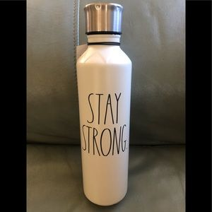 Rae Dunn Stay Strong stainless steel tumbler